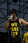 Rza on Stage at the 8th Annual Rock The Bells Held on Governors Island, NY  9/3/11