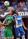 League Santander 2017-2018 - Game: 2<br /> RCD Espanyol vs CD Leganes: 0-1.<br /> Diego Rico vs Pablo Piatti.