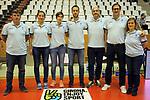 Catalunya vs Montenegro: 83-57.<br /> Staff Tecnic.