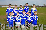 Allianz Cumann na mBunscol Finals at the John Mitchels GAA ground on Friday Pictured Aghatubrid NS Killarney - Sean Teahan, Brendan Kelly, Jack Sugrue, Carl O'Shea, Donnagh Quinlan Back Ronan Quinlan, Stephen Corcoran, Jack Kelly, Michael O'Leary, Robert Wharton