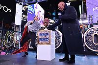 12/31/19 - New York: FOX'S NEW YEAR'S EVE WITH STEVE HARVEY: LIVE FROM TIMES SQUARE