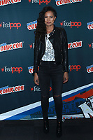 NEW YORK, NY - OCTOBER 7: Fola Evans-Akingbola at Freeform's Siren at New York Comic Con on October 7, 2017 in New York City.   <br /> CAP/MPI/DC<br /> &copy;DC/MPI/Capital Pictures