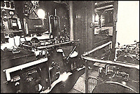 BNPS.co.uk (01202 558833)<br /> Pic: ArronFrench/BNPS<br /> <br /> Enginr room at the time of Dunkirk.<br /> <br /> A couple who spent &pound;3,000 saving an historic 'little' ship that served in and survived three wars are now set to sell it for &pound;160,000.<br /> <br /> Arron and Tina French found the 40ft Caretta in a run-down and rotten state in a marina where it had languished for almost 20 years.<br /> <br /> They bought it for &pound;2,200 and remarkably spent &pound;1,000 and four months restoring it to its former 19th century glory.<br /> <br /> They have now decided to sell it and although it has been given a pre-sale estimate of &pound;60,000, they have been told the historic vessel could go for almost three times that figure.