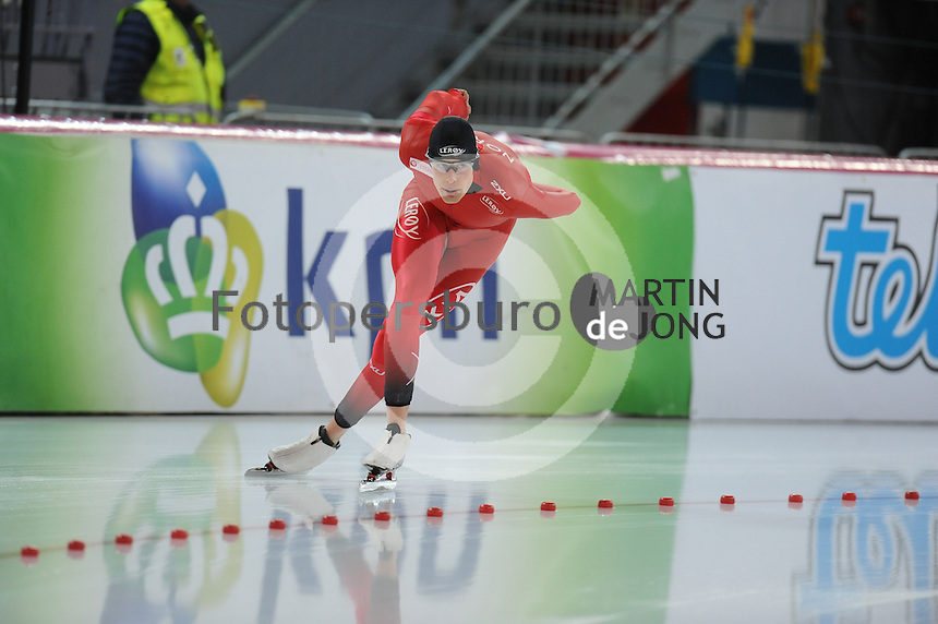 SPEED SKATING: HAMAR: Vikingskipet, 04-03-2017, ISU World Championship Allround, 5000m Men, Sindre Hendriksen (NOR), ©photo Martin de Jong