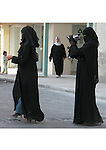 muslim women filming in Jordan