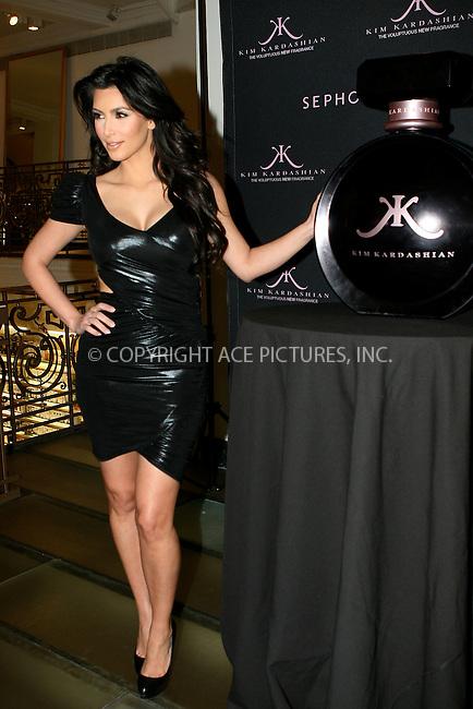 WWW.ACEPIXS.COM . . . . .  ....February 15 2010, New York City....TV personality Kim Kardashian launches her new fragrance 'Kim Kardashian' at Sephora on February 15 2010 in New York City....Please byline: NANCY RIVERA- ACEPIXS.COM.... *** ***..Ace Pictures, Inc:  ..Tel: 646 769 0430..e-mail: info@acepixs.com..web: http://www.acepixs.com