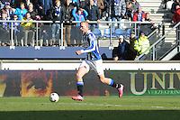 VOETBAL: HEERENVEEN: Abe Lenstra Stadion, 22-02-2015, Eredivisie, sc Heerenveen - FC Groningen, Eindstand: 3-1, Henk Veerman op weg naar de 3-1, ©foto Martin de Jong
