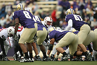 11 November 2006: Trevor Hooper during Stanford's 20-3 win over the Washington Huskies in Seattle, WA.