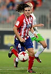 Atletico de Madrid's Andrea Pereira during UEFA Womens Champions League 2017/2018, 1/16 Final, 1st match. October 4,2017. (ALTERPHOTOS/Acero)