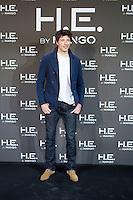 Model Andres Velencoso is announced as the new Face of Mango at the Villamagna Hotel. January 10, 2013. (ALTERPHOTOS/Alvaro Hernandez)