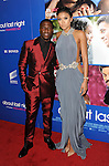Kevin Hart and date arriving at the Pan African Film and Arts Festival premiere of About Last Night, held at the Cinerama Dome on February 11, 2014.