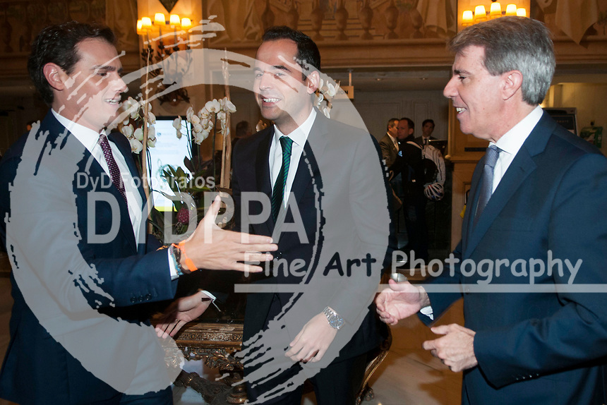 Albert Rivera, Ignacio Aguado and Angel Garrido, yesterday left the Popular Party (PP) to join the party Ciudadanos