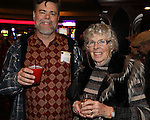 Matthew Pichon, and Mom, Lorraine Pichon celebrate her 85th birthday during the Sheep Dip 53 Show at the Eldorado Hotel & Casino on Friday night, Jan. 13, 2017.