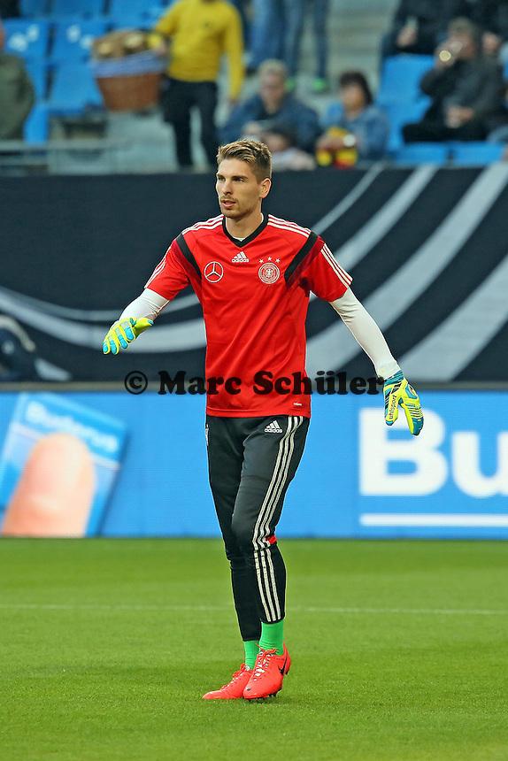 Ron Robert Zieler (D) - Deutschland vs. Polen, WM-Vorbereitung Testspiel, Imtech Arena Hamburg
