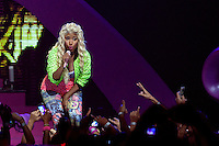 DETROIT, MICHIGAN- JULY 17: Nicki Minaj performing live at The Fox Theatre in Detroit, Michigan on July 17, 2012. Credit: MediaPunch Inc. /NortePhoto.com<br />