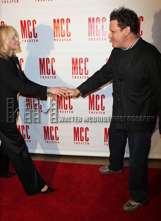 Judith Light & Isaac Mizrahi.attending the MISCAST 2011 MCC Theater's Annual Musical Gala in New York City.