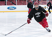 Chelsea Ziadie (Harvard - 24) - The Harvard University Crimson practiced at Fenway on Monday, January 9, 2017, in Boston, Massachusetts.