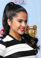LOS ANGELES, CA, USA - APRIL 26: Becky G, Rebbeca Gomez at the 2014 Radio Disney Music Awards held at Nokia Theatre L.A. Live on April 26, 2014 in Los Angeles, California, United States. (Photo by Xavier Collin/Celebrity Monitor)