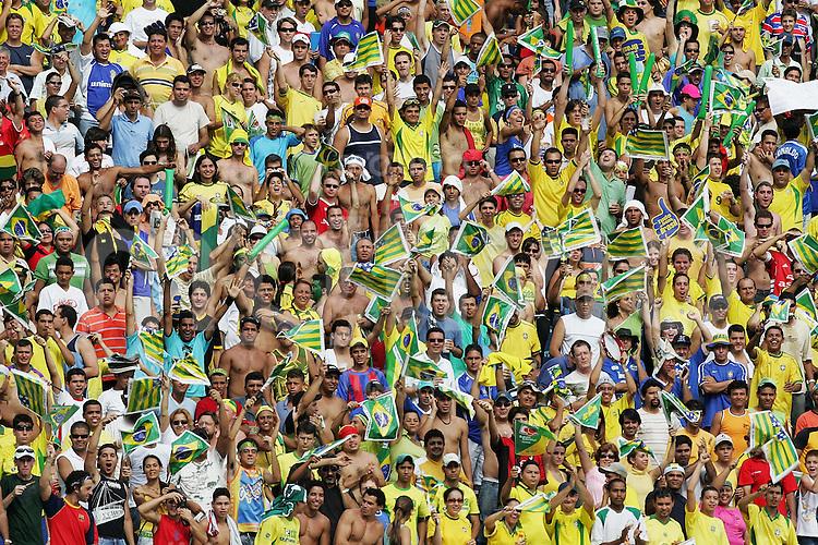 Fussball International WM Quali 2006 Brasilien  1- 0 Peru Brasilianische Fans; Zuschauer