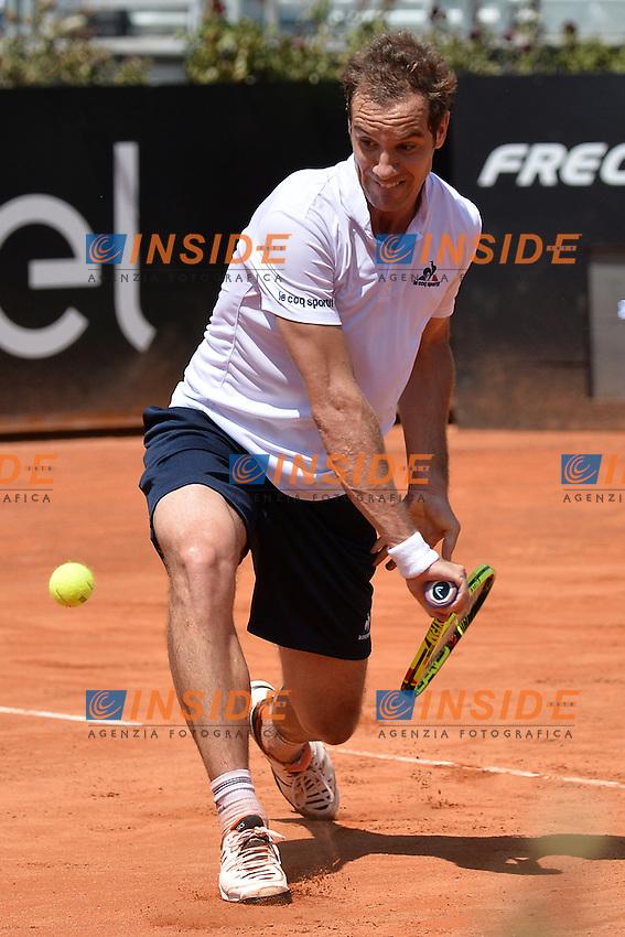 Richard Gasquet (FRA)<br /> Roma 9-05-2016  Foro Italico<br /> Internazionali BNL d'Italia, <br /> Tennis ATP<br /> Foto Antonietta Baldassarre / Insidefoto