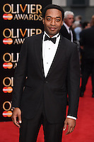 Chiwetel Ejiofor arrives for the Olivier Awards 2015 at the Royal Opera House Covent Garden, London. 12/04/2015 Picture by: Steve Vas / Featureflash