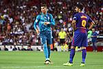 Supercopa de Espa&ntilde;a - Ida.<br /> FC Barcelona vs R. Madrid: 1-3.<br /> Cristiano Ronaldo &amp; Luis Suarez.