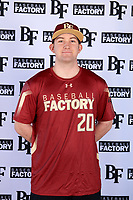 Connor Donohue (20) of Missoula, Montana during the Baseball Factory All-America Pre-Season Tournament, powered by Under Armour, on January 12, 2018 at Sloan Park Complex in Mesa, Arizona.  (Mike Janes/Four Seam Images)