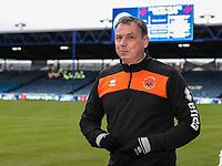 Blackpool's goalkeeper coach Dave Timmins <br /> <br /> Photographer Andrew Kearns/CameraSport<br /> <br /> The EFL Sky Bet League One - Portsmouth v Blackpool - Saturday 12th January 2019 - Fratton Park - Portsmouth<br /> <br /> World Copyright &copy; 2019 CameraSport. All rights reserved. 43 Linden Ave. Countesthorpe. Leicester. England. LE8 5PG - Tel: +44 (0) 116 277 4147 - admin@camerasport.com - www.camerasport.com