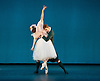 The Royal Danish Ballet soloists &amp; principals <br /> Bournoville Celebration <br /> at The Peacock Theatre, London, Great Britain <br /> press photocall<br /> 9th January 2015 <br /> <br /> La Sylphide <br /> <br /> <br /> Gudrun Bojesen as the Sylph <br /> Ulrik Birkkjaer as James<br /> <br /> <br /> <br /> <br /> <br /> Photograph by Elliott Franks <br /> Image licensed to Elliott Franks Photography Services
