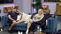 Andrew Brady, Ashley James and Ginuwine.<br /> Celebrity Big Brother 2018 - Day 10<br /> *Editorial Use Only*<br /> CAP/KFS<br /> Image supplied by Capital Pictures