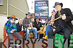 Mountain Roots Music at the St Patricks Day Parade in Cahersiveen on Monday pictured l-r; Jordan Kelly, John Kelly, Paul Evans, Ritchie MacCarthy, Celine Kavanagh & Seamus Collins.