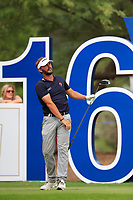 Joost Luiten (NED) on the 16th tee during the 3rd round of the DP World Tour Championship, Jumeirah Golf Estates, Dubai, United Arab Emirates. 17/11/2018<br /> Picture: Golffile | Fran Caffrey<br /> <br /> <br /> All photo usage must carry mandatory copyright credit (© Golffile | Fran Caffrey)