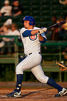 May 6 2010: Rebel Ridling (33) of the  Daytona Cubs during a game vs. the Clearwater Threshers at Jackie Robinson Ballpark in Daytona Beach, Florida. Daytona, the Florida State League High-A affiliate of the Chicago Cubs, lost the game against Clearwater, affiliate of the Philadelphia Phillies, by the score of 4-1.  Photo By Scott Jontes/Four Seam Images