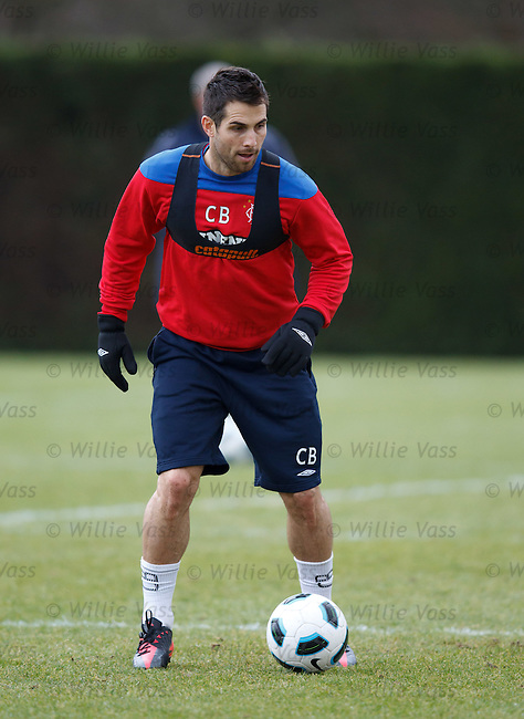 Carlos Bocanegra at training