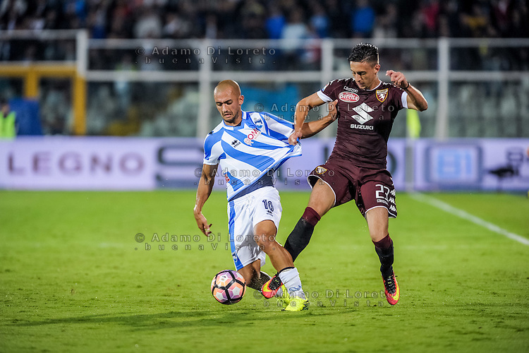 Benali Ahmad (Pescara) during the Italian Serie A football match Pescara vs Torino on September 21, 2016, in Pescara, Italy. Photo di Adamo Di Loreto/BuenaVista*photo