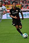 14.04.2018, BayArena, Leverkusen , GER, 1.FBL., Bayer 04 Leverkusen vs. Eintracht Frankfurt<br /> im Bild / picture shows: <br /> Benjamin Henrichs (Leverkusen #39), <br /> <br /> <br /> Foto &copy; nordphoto / Meuter