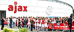 Nederland, Amsterdam, 27 juni 2012.Seizoen 2012/2013.Eerste Training Ajax 2012.Frank de Boer trainer-coach van Ajax