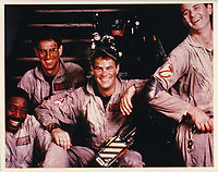 Ghostbusters (1984) <br /> Ernie Hudson, Harold Ramis, Dan Aykroyd &amp; Bill Murray<br /> *Filmstill - Editorial Use Only*<br /> CAP/KFS<br /> Image supplied by Capital Pictures