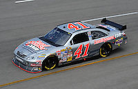 May 1, 2009; Richmond, VA, USA; NASCAR Sprint Cup Series driver Jeremy Mayfield during practice for the Russ Friedman 400 at the Richmond International Raceway. Mandatory Credit: Mark J. Rebilas-