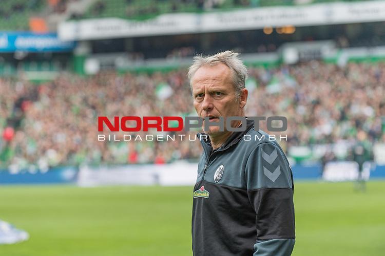 29.10.2016, Weserstadion, Bremen, GER, 1.FBL, Werder Bremen vs SC Freiburg<br /> <br /> im Bild<br /> Christian Streich (Trainer SC Freiburg), <br /> <br /> Foto &copy; nordphoto / Ewert