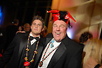 Steven Scofelia and Jack Brown at the San Luis Mardi Gras Ball in Galveston Friday Feb. 01,2008.(Dave Rossman/For the Chronicle)