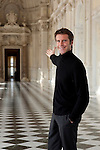 Principe Emanuele Filiberto di Savoia fotografato a Torino  nella Reggia di Venaria in occasione della mostra dedicata ai 150 anni dell'Unit&agrave; di'Italia, <br /> Torino 21 marzo 2011