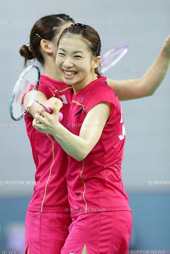 Misaki Matsutomo (JPN), <br /> SEPTEMBER 21, 2014 - Badminton : Women's Team Semi-final Japan and China at Gyeyang Gymnasium during the 2014 Incheon Asian Games in Incheon, South Korea. (Photo by AFLO)