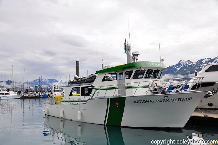 M/V Serac in the Seward Harbor