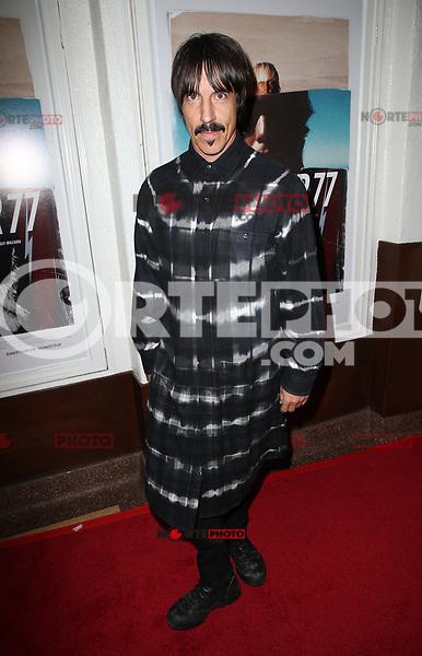 SANTA MONICA, CA - NOVEMBER 1: Anthony Kiedis, at the Los Angeles Premiere of documentary Bunker77 at the Aero Theater in Santa Monica, California on November 1, 2017. Credit: Faye Sadou/MediaPunch /NortePhoto.com