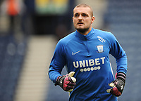 Preston North End's Michael Crowe during the pre-match warm-up <br /> <br /> Photographer Kevin Barnes/CameraSport<br /> <br /> The EFL Sky Bet Championship - Preston North End v Barnsley - Saturday 5th October 2019 - Deepdale Stadium - Preston<br /> <br /> World Copyright © 2019 CameraSport. All rights reserved. 43 Linden Ave. Countesthorpe. Leicester. England. LE8 5PG - Tel: +44 (0) 116 277 4147 - admin@camerasport.com - www.camerasport.com