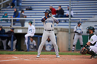 Lake County Captains left fielder Hosea Nelson (6) during a Midwest League game against the Beloit Snappers at Pohlman Field on May 6, 2019 in Beloit, Wisconsin. Lake County defeated Beloit 9-1. (Zachary Lucy/Four Seam Images)