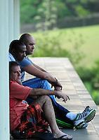 ATENCAO EDITOR FOTO EMBARGADA PARA VEICULO INTERNACIONAL - ITU, SP, 20 DE SETEMBRO 2012 - Goleiro Marcos (acima) durante o treino da equipe do Palmeiras realizado no Spa Sport Resort, em Itu (SP), nesta quinta-feira (20). O time enfrenta o Figueirense, no sábado (22), pelo Campeonato Brasileiro. FOTO: RODRIGO VILLALBA - BRAZIL PHOTO PRESS.