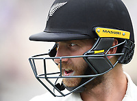 3rd December, Hamilton, New Zealand;  New Zealand captain Kane Williamson during play day 5 of the 2nd test cricket match between New Zealand and England at Seddon Park, Hamilton, New Zealand.