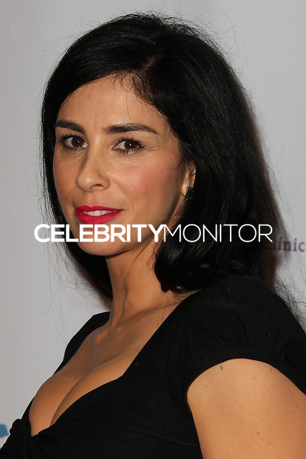 BEVERLY HILLS, CA - NOVEMBER 25: Comedian Sarah Silverman arrives at the Saban Community Clinic 37th Annual Dinner Gala held at The Beverly Hilton Hotel on November 25, 2013 in Beverly Hills, California. (Photo by Xavier Collin/Celebrity Monitor)